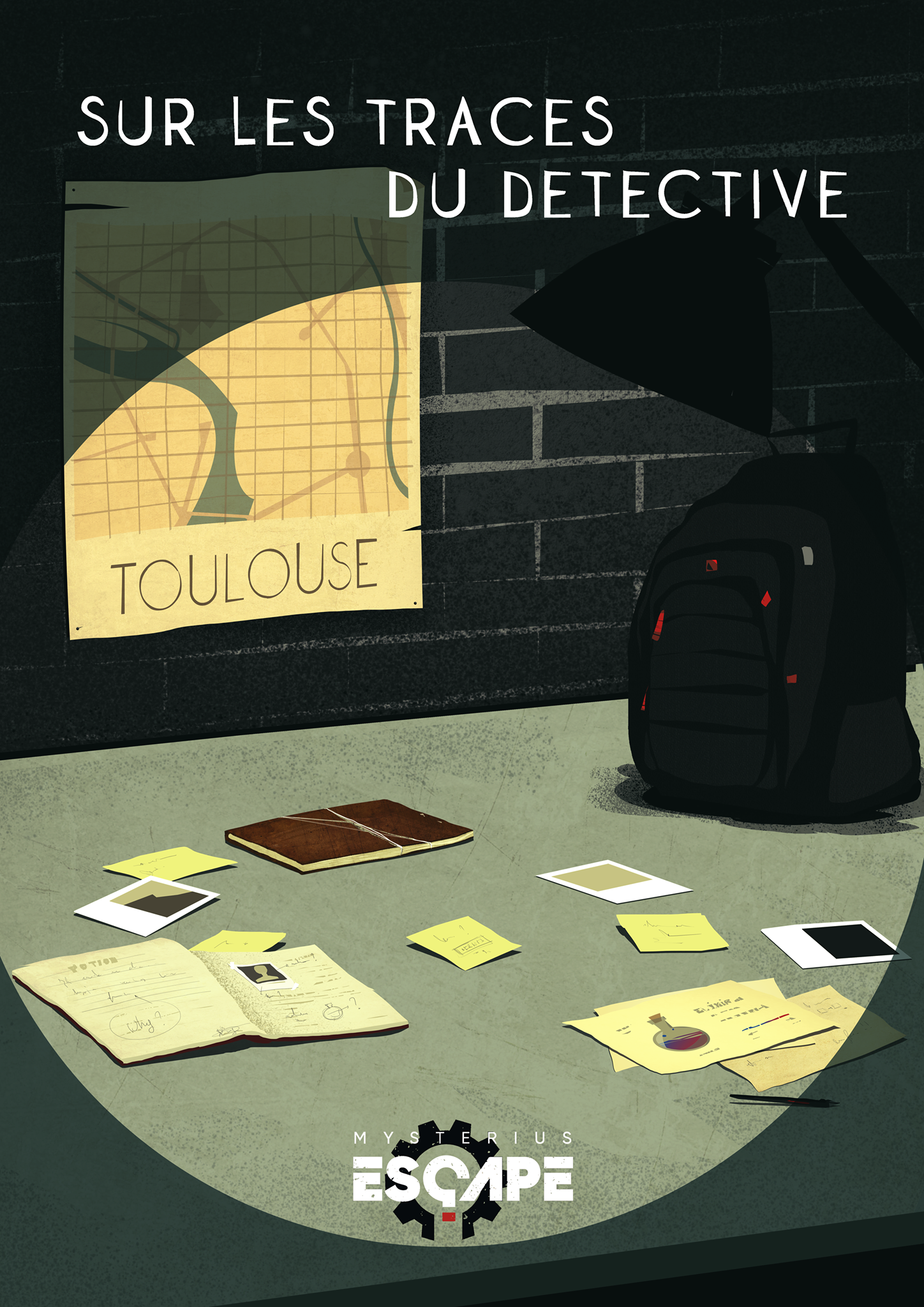 On the detective's trail